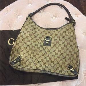 Authentic Gucci Abbey Handbag Monogram