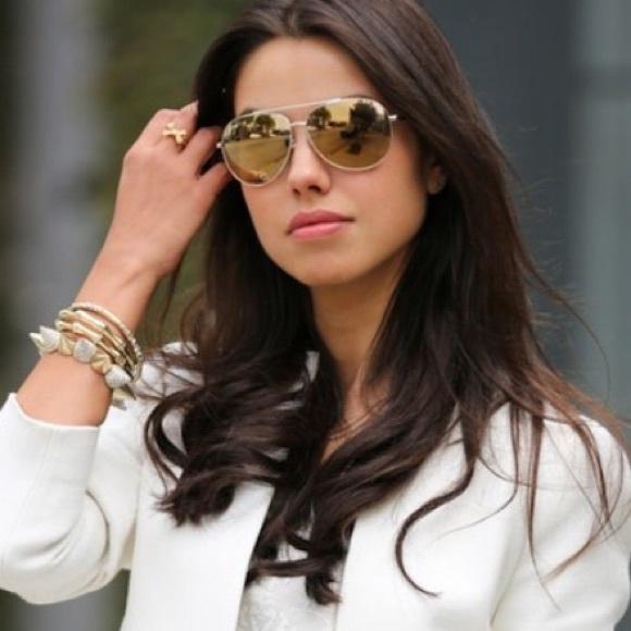 a4a6cfbb7aa7d Michael Kors Lola aviator sunglasses. M 589bdfa4713fde550602c27c