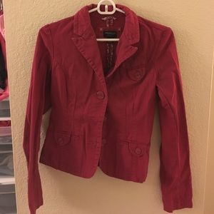 American Eagle Outfitters Jackets & Blazers - Cranberry color blazer