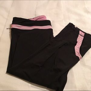 Lululemon crop workout pant 12