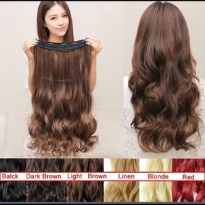 Accessories - Hair extension light brown