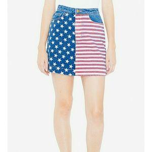 USA Flag skirt