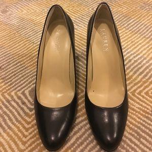 Black size 8 Ralph Lauren heels