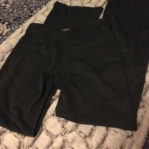 Victoria's Secret Other - Victoria's Secret VSX Gray Flare Workout Pants