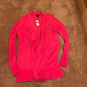 gap factory Sweaters - Pink Open Cardigan
