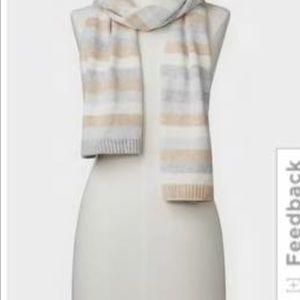 GAP Crazy Stripe Merino Wool Blend Scarf