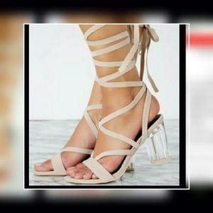 Shoes - Sale🌷New!! Tie up heels