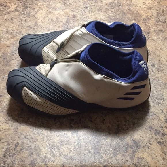 a1d340f57aea Adidas Other - Adidas T-Mac 1 Low- Blue and White- Original issue