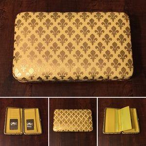 Amor Adore Handbags - 5. Shinny Yellow/Gold Hananel Wallet
