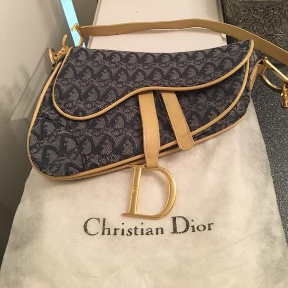 db46ac80e76d Christian Dior Handbags - Christian Dior saddle bag
