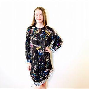 Anna Sui Dresses & Skirts - ANNA SUI HERALD ANGELS CHERUB TRAPEZE DRESS #413