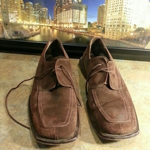 Mezlan Other - DRESS SHOES.  BROWN SUEDE
