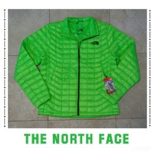 The North Face Other - {The North Face} thermoball power green jacket