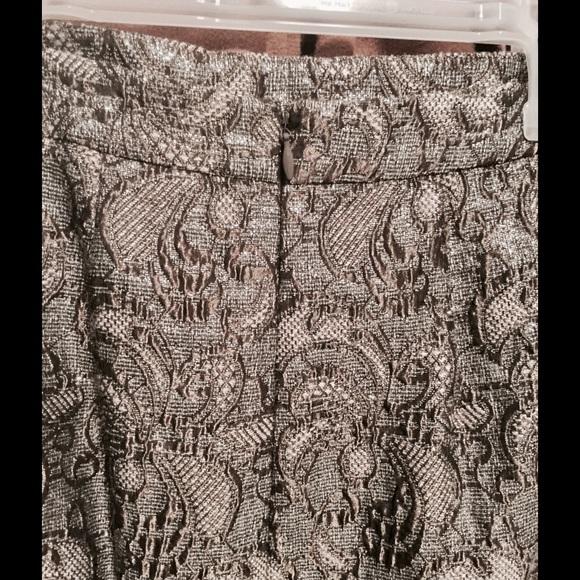 Ann Taylor Skirts - Jacquard Pencil Skirt || Ann Taylor