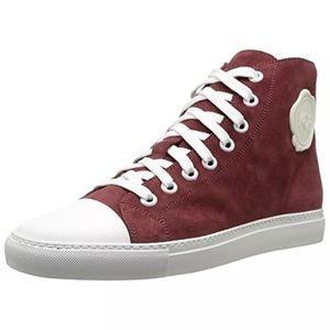 Viktor & Rolf Other - Viktor & Rolf - Mens Red Leather Fashion Sneakers