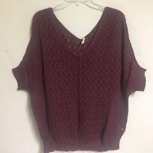 Frenchi Sweaters - Maroon Sweater