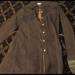 SAM. Jackets & Blazers - Jean jacket and skirt