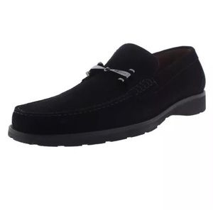 a. testoni Other - A. Testoni 9261 Mens Black Suede Horsebit Loafers