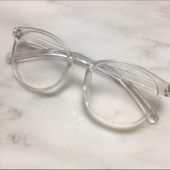 Brandy Melville Accessories | Clear Glasses Frames Tumblr Fake ...