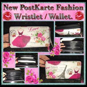 POSTKARTE Handbags - 🌹NEW POSTKARTE WRISTLET/WALLET🌹