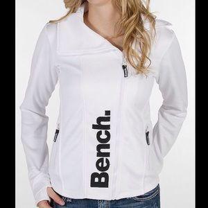 Bench. doppio asymmetrical activewear jacket.