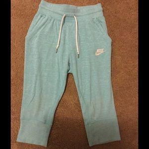 Nike Other - Nike Youth Cotton Crop Drawstring Pants