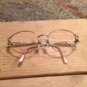 Vintage Accessories - Tura 52O17 vintage metal frames