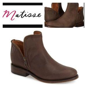 Matisse Zipper Ankle Boot