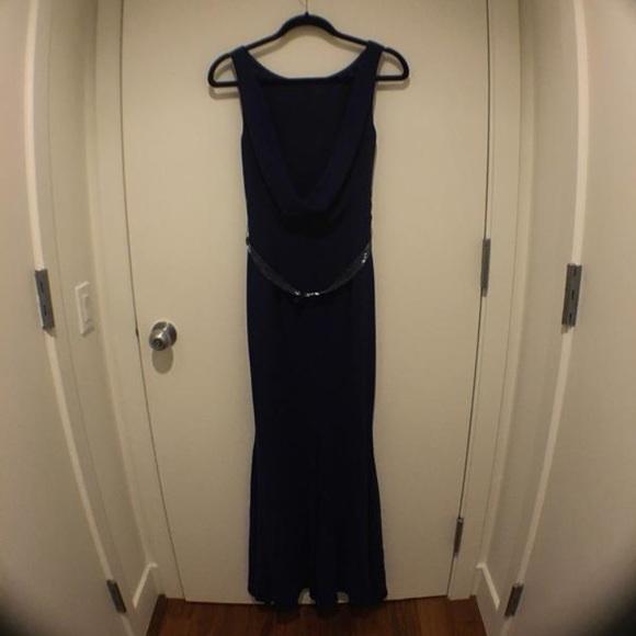 Coast London Dresses Navy Blue Black Tie Dress Poshmark