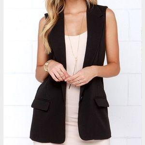 BB Dakota Jackets & Blazers - 🎉2X HP🎉 🆕 Listing BB Dakota Chíc Black Vest