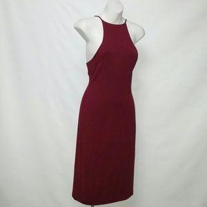 Velvet Torch Dresses & Skirts - VELVET TORCH Awesomely Cute Midi Halter Dress NWOT