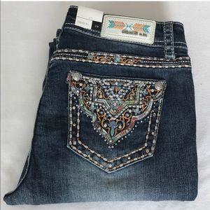 Grace in LA Denim - Grace in LA Easy fit bootcut jeans