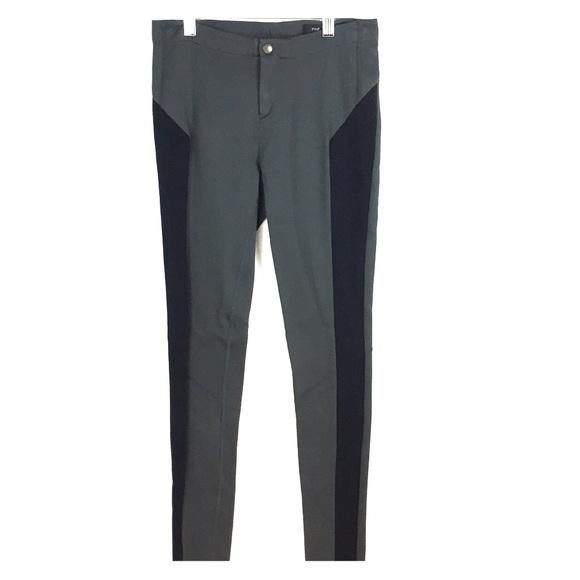 e6a25c7412962 rag & bone Pants | Rag Bone Grayblack Ribbed Panel Leggings | Poshmark