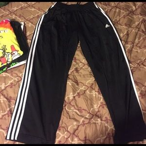 Men's Adidas track pants size medium