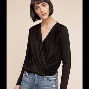 ANTHROPOLOGIE WRAP TOP NEW WITH TAGS