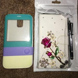 (2) Samsung GALAXY S5 Phone Cases 📱