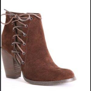 Volatile Shoes - Brown suede  bootie
