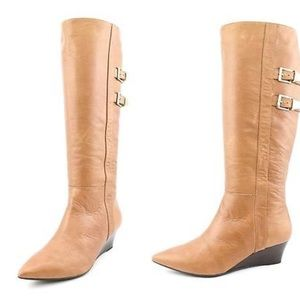 Sofft Shoes - SOFFT | Tall Leather Wedge Boots