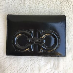 Salvatore Ferragamo Handbags - Salvatore Ferragamo Black Leather Wallet