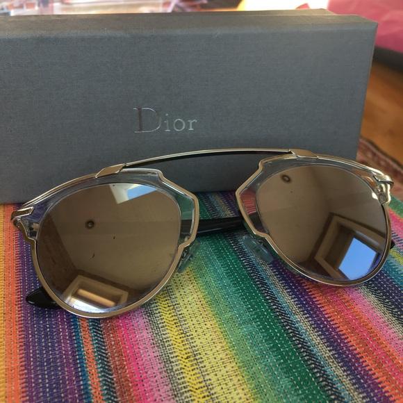 133c0cf3213e Christian Dior Accessories - Dior  So Real  Authentic Sunglasses in  Palladium