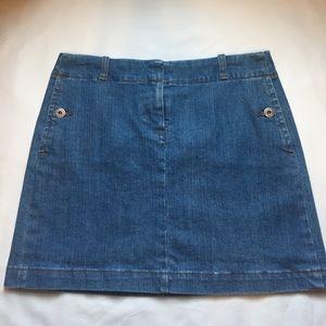 J. Crew Dresses & Skirts - J. Crew Jean Skirt