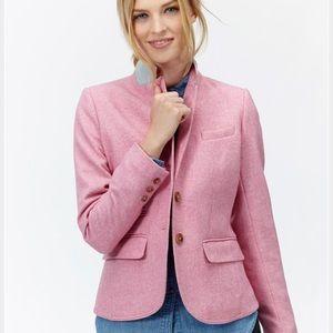 Joules Jackets & Blazers - NWOT Joules Portman Heathered Tweed Pink Blazer
