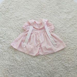 Other - 🌸VINTAGE baby girl pink sailor dress🌸
