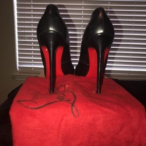 Christian Louboutin Pigalle 120 Black (Not Patent)