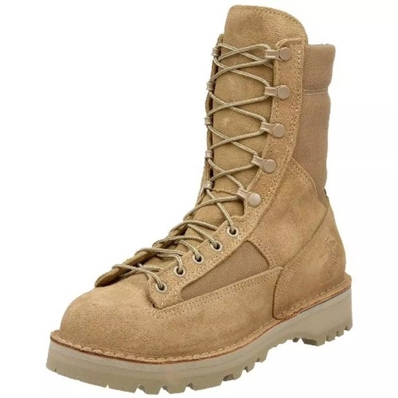 Danner Shoes Marine Brown Midcalf Military Boots 35b