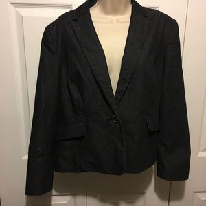 Kasper Jackets & Blazers - ✅2 got $15 black Denim Blazer