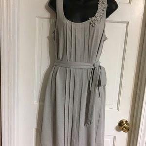 Loft gray dress in size L