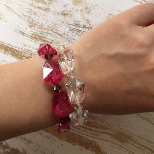Tarina Tarantino Jewelry - Authentic Tarina Tarantino lucite bracelet duo