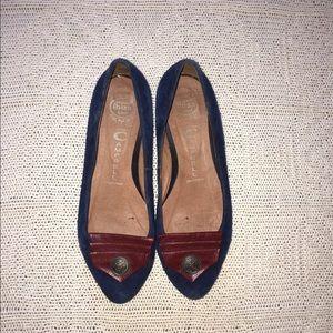 Jeffrey Campbell Shoes - Jeffrey Campbell Suede Reagle Pump