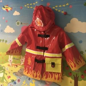 Kidorable Other - Kidorable fire chief rain coat boys 2T